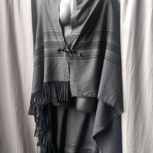 3.1 Phillip Lim Jackets & Coats - Phillip Lim Fringed Wrap Blanket Pre-owned